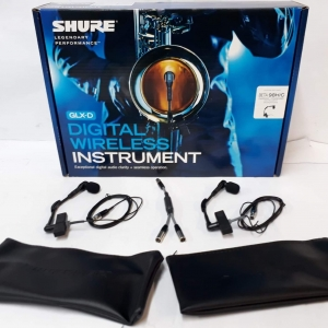 Accordion wireless mic system Shure Double Beta 98 + Y cable split