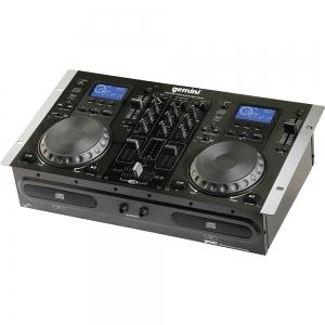 Gemini CDM-3200 Dual CD Player and Mixer Console
