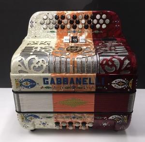 Gabbanelli 3 switch White ,orange, red G.C.F NO BASS REEDS