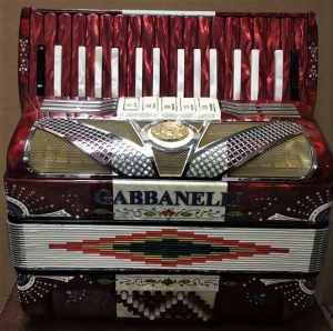 Gabbanelli 34 keys red