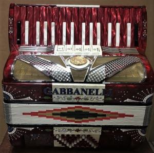 Gabbanelli 34 keys red