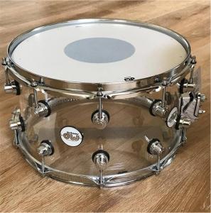 Tarola DW Snare Clear Acrylic 8x14 in