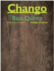 Chango Bajo Quinto strings Phosphor Bronze loop end