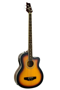 De Rosa  4 String Cutaway Acoustic-Electric Bass Guitar