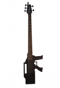 Glen Burton AK475 Machine Gun 5 String Electric Bass