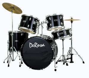 De Rosa 5 Piece Drum Kit