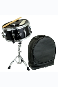 "De Rosa Black 14"" Snare Drum Kit Black"