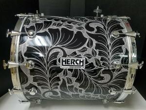 Herch  Tambora 2020 CROMO 24X24