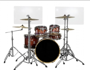 Drum Sound Barrier shield  Cage less kit