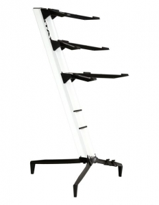Stay Music Tower Stand Triple Tier 1300/03 White with Custom Bag