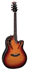 Ovation Standard Elite 2778AX Acoustic-Electric Guitar - New England Burst