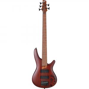 Ibanez SR505EBM SR Standard 5-String Electric Bass - Brown Mahogany