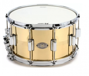 Rogers Drums Dyna-sonic Brass Snare Drum - 8 x 14 inch