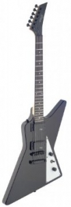 """Stagg SEH30-BK """"Heavy"""" Hammer Style Electric Guitar - Black"""