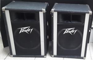Pair of Peavey PT 112 PA 1x12 speaker cabinets