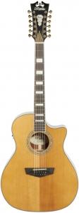 D'Angelico Premier Fulton Acoustic-Electric Guitar, 12-String