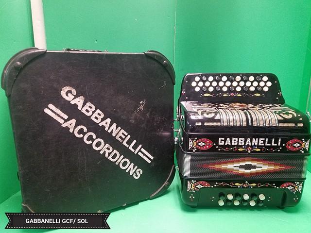 Gabbanelli No Switch 34 Button 12 Bass Sol Gcf Used