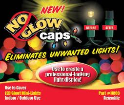 christmas light blackout caps
