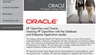 Oracle Alliance