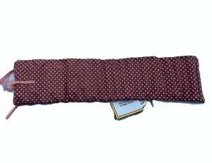 Pink Spotted Crayon Roll