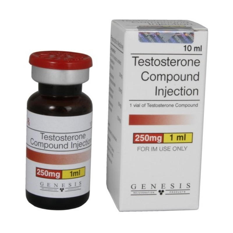 Test Compound Genesis 250mg 10ml Sustanon like Testosterone