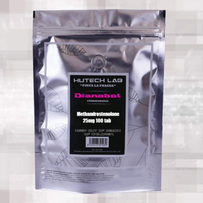 Dianabol 25mg – 100 tabs – Hutech Labs