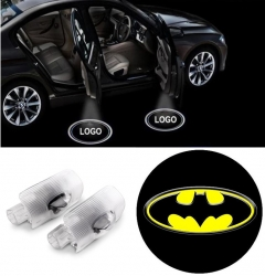 2x Batman LED Car Door Puddle Light for TOYOTA