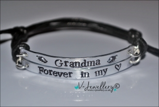 Forever in my heart Multi-Plate Bracelet