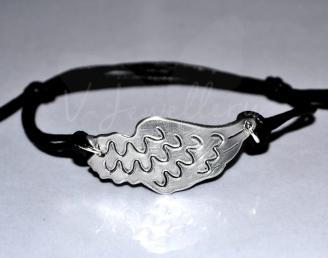Large Angel Wing Bracelet