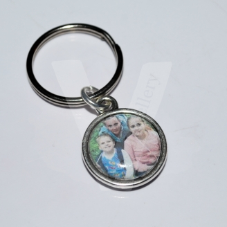 Personal Photo Clip Charm / Keyring