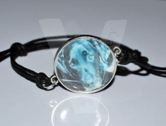 Personal Large Photo Bracelet