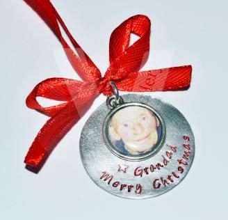Personalised Photo Christmas Decoration