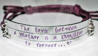 """Mothers Love is forever"" Multi-Plate Bracelet"