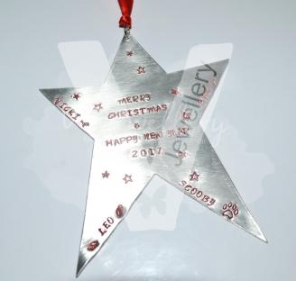 Personalised XL Star Keepsake Plaque