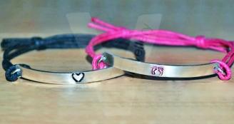 Design Hand Stamped Plate Bracelet