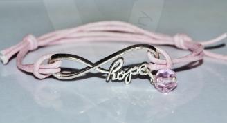 Infinity Hope Adjustable Bracelet