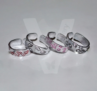 Design Toe/Midi Rings *Set of 2*