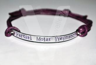Molar Pregnancy Plate Bracelet