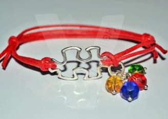 Autism Awareness Jigsaw Bracelet