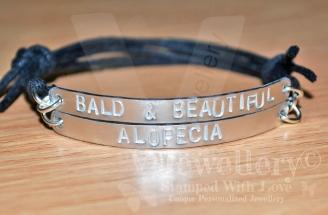 """Alopecia"" Double Multi-Plate Bracelet"