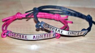 Special Relative Single Plate Bracelet