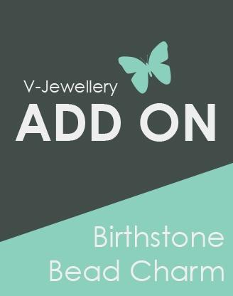 ADD ON: Birthstone Glass Bead Charm