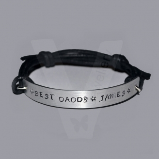 Personalised Single Plate Bracelet *Higher Quality*
