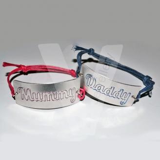 """Etched """"Relative"""" Cuff Bracelet"""