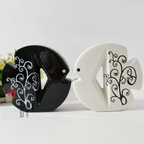 Fashion ceramic handicraft decoration furnishing