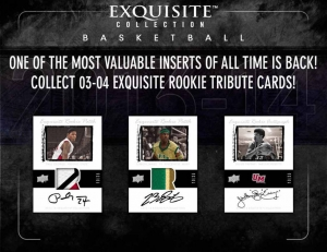 2013-14 Exquisite BKB 3 Box Case Break #44