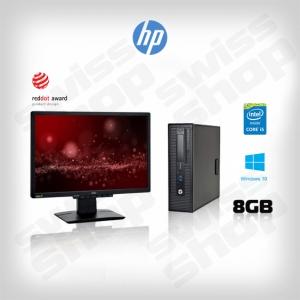 "HP EliteDesk 700/800 G1 sff + HP LE2202x - 22"" II"