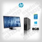 "HP Elite 8200 SFF + HP Compaq LE2202x - 22"" II"