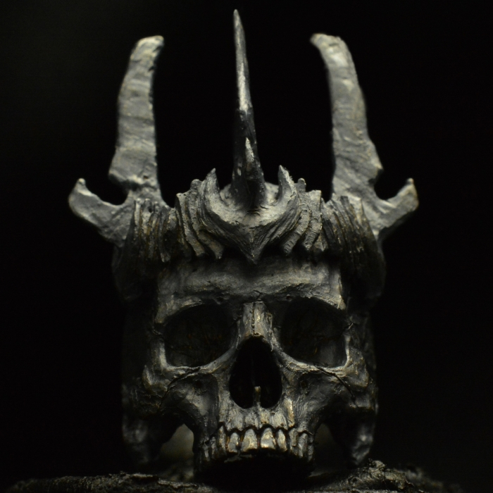 King of the Dead • .925 Sterling Silver • Skull Ring • #40