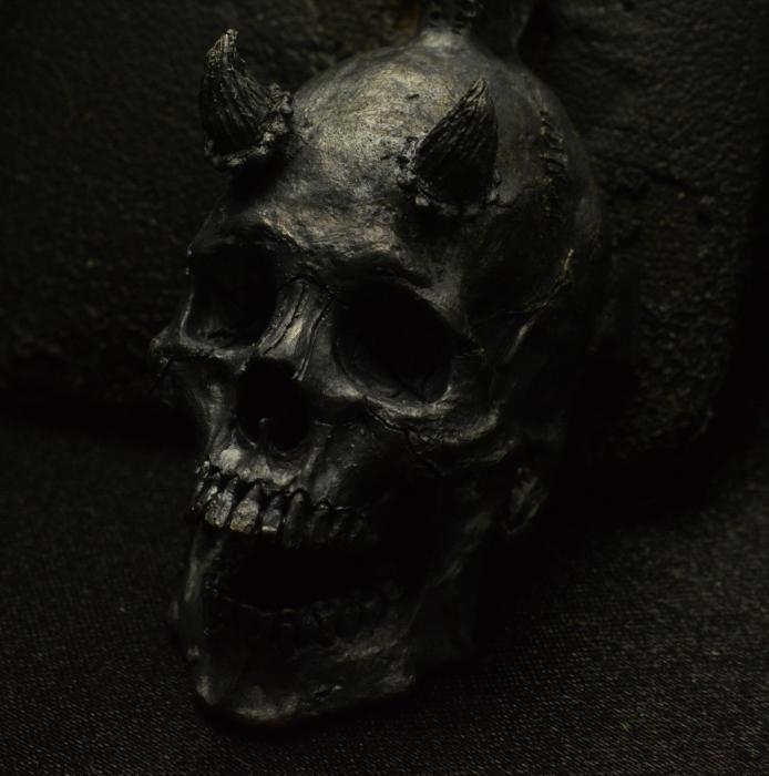 Deal Maker Pendant  • .925 Sterling Silver • Skull Pendant • No Chain #45